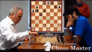 Kasparov punished Nakamura for a backward pawn!