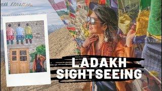 Leh Ladakh 2019   Shanti Stupa, Tsemo Fort & 3 Idiots Rancho's School Visit