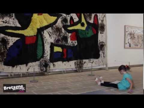 Joan Miró : l'Enfance de l'art - Interview à la sortie de l'exposition de Landerneau