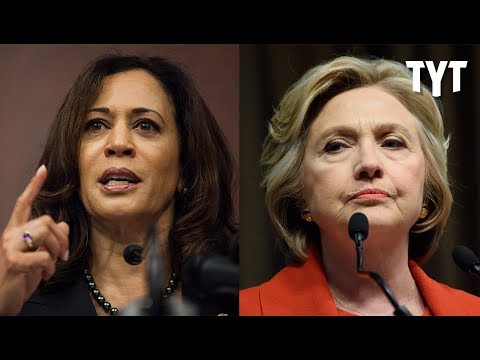 Kamala Harris Fundraises With Big Clinton Donors