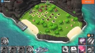 海島奇兵 Boom Beach Level 42 (44) Cutter Perfect Tanks