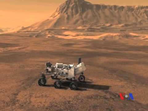 Xe Curiosity đáp xuống Sao Hỏa