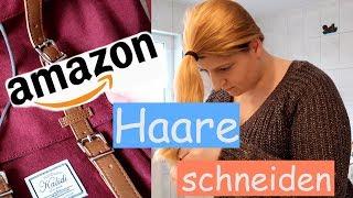HAARE selber SCHNEIDEN + Amazon Haul l Marry