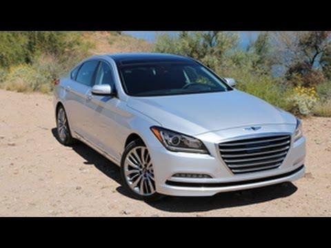 FIRST DRIVE 2015 Hyundai Genesis by Ron Doron