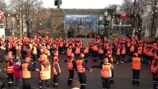 Прикол!!!) Строители зажгли прямо у памятника Пушкину!!!) СМОТРЕТЬ ВСЕМ!!!