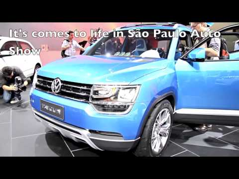 The new VW Taigun at Brazil autoshow