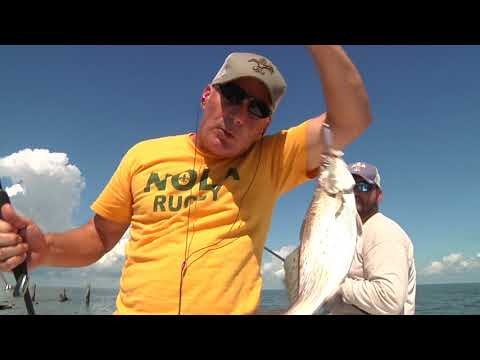 Captain Ahab and the Pirates of Black Bay - Louisiana - Sportsman TV Full Episode