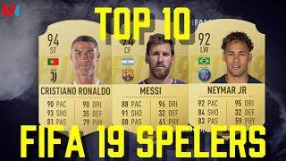 FIFA 19: TOP 10 Players VS TOP 10 Players FIFA 18 | De Bruyne & Modrić Nieuw in de Lijst