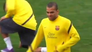 FC Barcelona Training Session Rondo/Possession