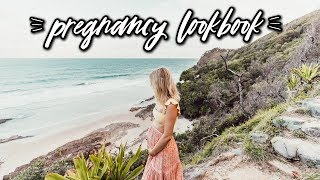 SPRING PREGNANCY LOOKBOOK! What I Wore in Australia | Aspyn Ovard