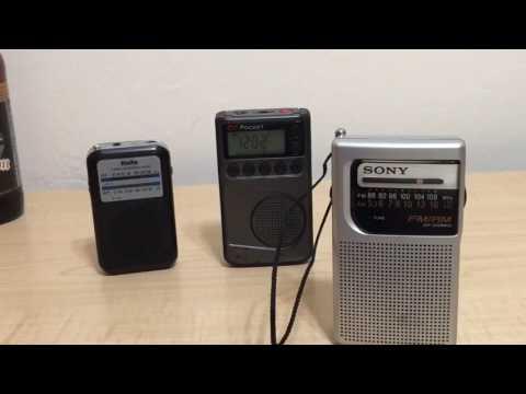 C Crane CC Pocket, Sony ICF-S10MK2, Kaito KA200, Pocket Radio Review