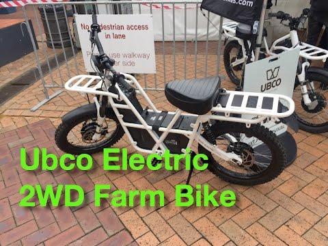29de495ce47 Ubco 2x2 Electric Farm Bike - YouTube