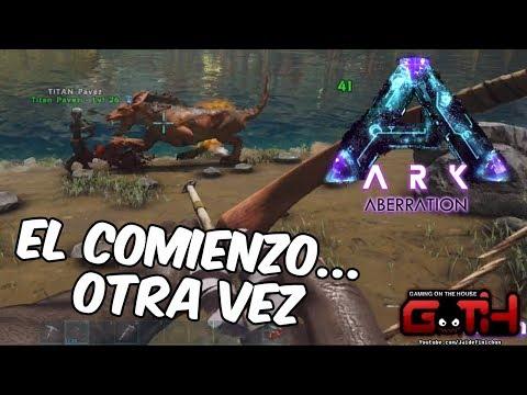 ARK EL COMIENZO OTRA VEZ! Ark Survival Extracto EN VIVO en Español - GOTH