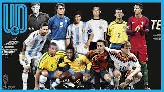 Revelan el Dream Team de todos los tiempos según France Football