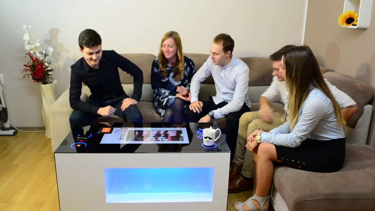 Hitable Smart Coffee Table Youtube