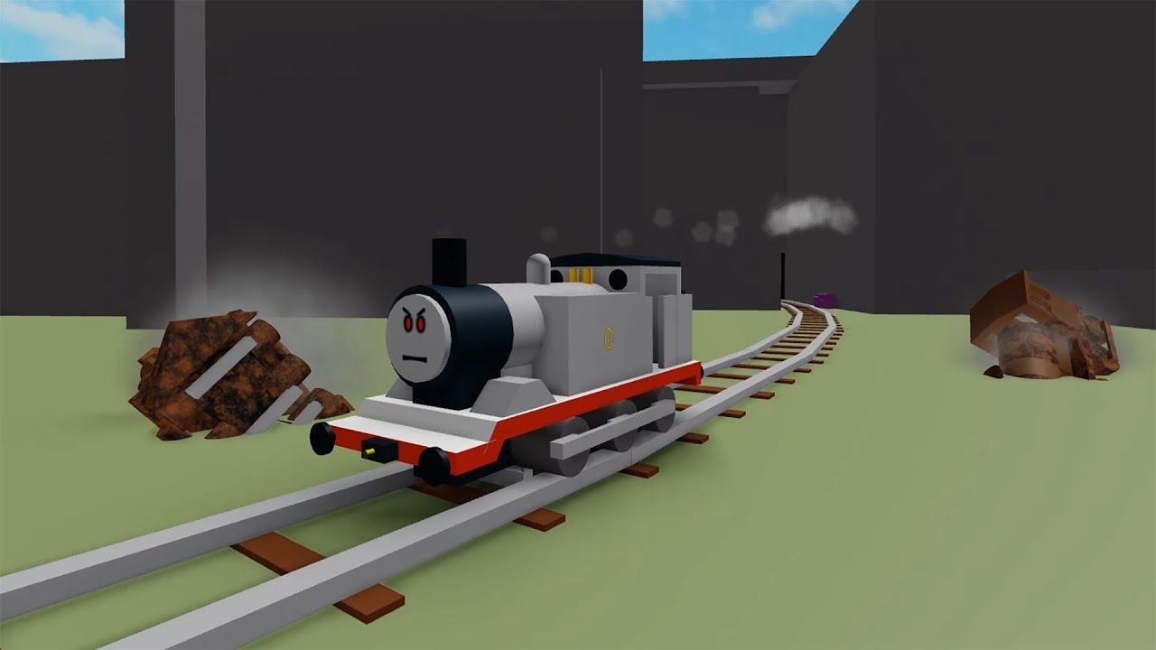 Roblox Railroad Old Thomas Stuff Fixed With Timothy On Roblox Train Games Youtube