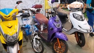 Выставка Экодрайв Электрический персональный Транспорт Обзор Voltreco.ru(, 2017-04-15T01:09:21.000Z)