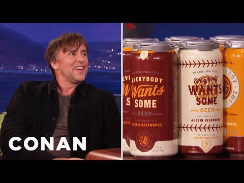 Richard Linklater's Proudest Achievement: His Own Beer Brand   CONAN on TBS