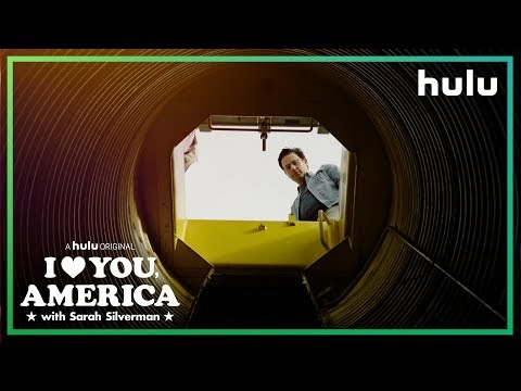 Gil Ozeri Survives a Doomsday Bunker  I Love You, America on Hulu