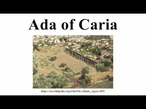 Ada of Caria