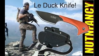 Outdoor Edge Le Duck: Awesome Neck Knife for $23