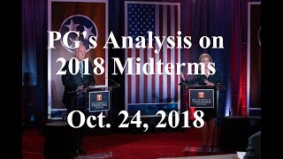 MIDTERMS 2018 | U.S. Senate Race as of Oct. 24, 2018 | Republicans Leading