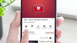 Ratu - Teman Tapi Mesra (Karaoke)