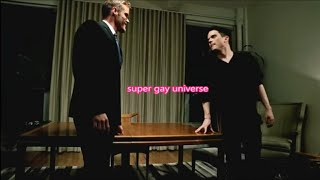 My GAY BOSS IS MY LOVE! GAY GUYS KISS Suit work MEN KISSING JOB handsome male free webserie gay film