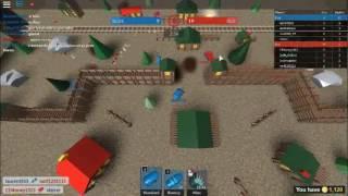 GUERRA DE TANKES EN ROBLOX I Tiny tanks I lautaro javier