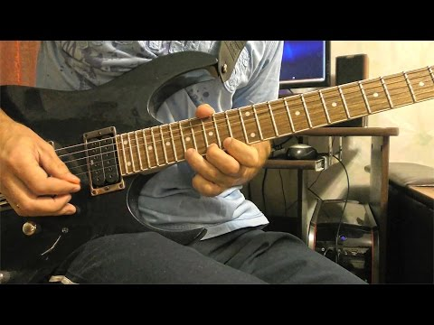 Master of Puppets solo - Metallica cover