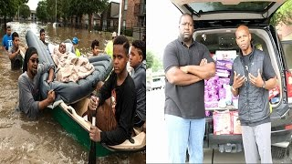 Advise Show Media Donates Essential Items To Houston Flood Victims