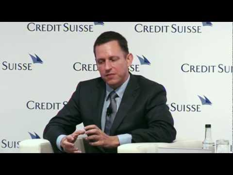 Peter Thiel - Developing the Developed World