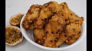 Cánh Gà Chiên Sốt Chanh Dây- Passion Fruit Chicken Wings