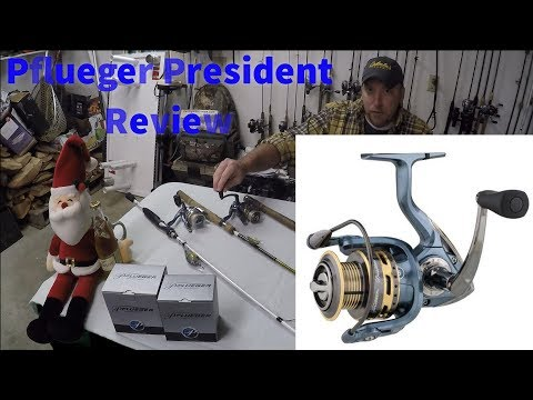 Pflueger Spinning Reel Review [President]