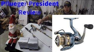 Pflueger Spinning Reel Review [President]