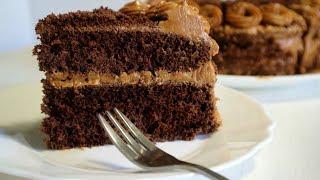 Торт Мулатка. Очень вкусный и нежный! | Ciasto Mulatka | Mulatka chocolate cake!