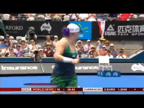 Lindsey Vonn out of Sochi on BBC World News