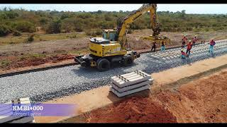 DSM July 2019 Progress Video; Standard Gauge Railway Line From Dar Es Salaam to Morogoro Project
