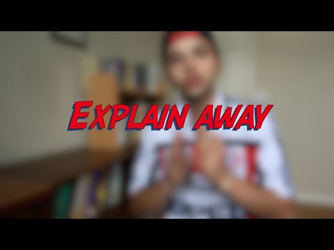 Explain Away - W21D1 - Daily Phrasal Verbs - Learn English online free video lessons