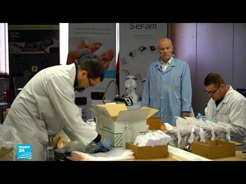 ريبورتاج: فيروس كورونا ينعش الطلب على المصنعين الصغار لأجهزة المساعدة على التنفس