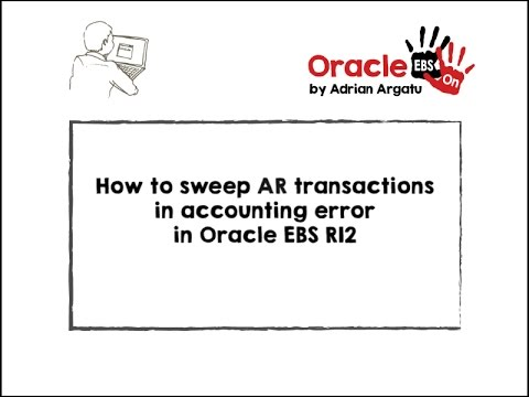 How to sweep AR (Receivables) transactions that are in