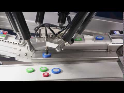 Custom Delta Robot for Industrial Application - CKC Engineering, LLC