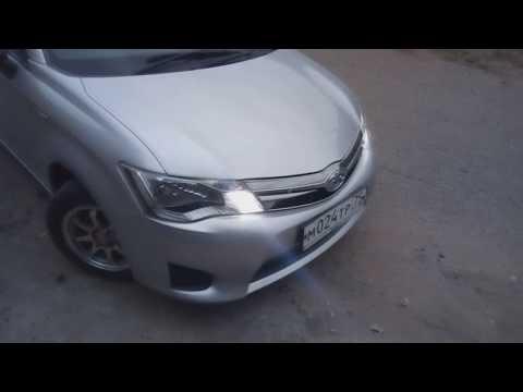 Установка диодных лампочек вместо поворотников Toyota Corolla Fielder 165