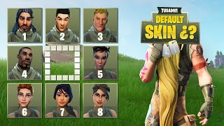 ADIVINA LA SKIN BY DEFECT (DEFAULT) - FORTNITE CHALLENGE tusadivi