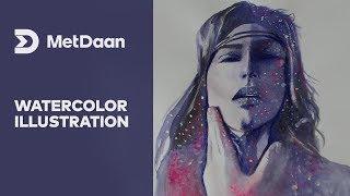 Watercolor Illustration | MET DAAN
