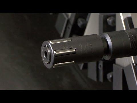 0.2mmの自動追従機構を備えたローラバニシングツール