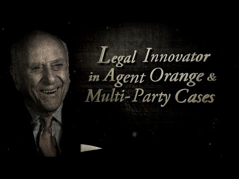 Moments in History: Judge Jack Weinstein and Mass Tort Litigation