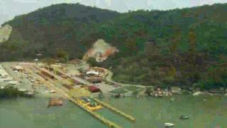 Itaguaí NOV/11 - Andamento das obras de construção da Base e Estaleiro de Submarinos