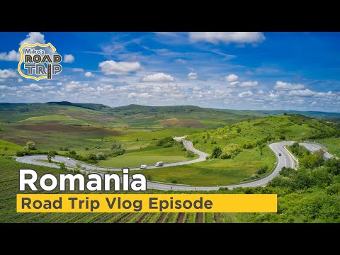 Romania Road Trip Travel Vlog -  Visit Romania with Mike & Miha