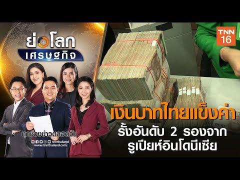 เงินบาทไทยแข็งค่ารั้งอันดับ 2 รองจากรูเปียห์อินโดนีเซีย   ย่อโลกเศรษฐกิจ 1 มิ.ย.63